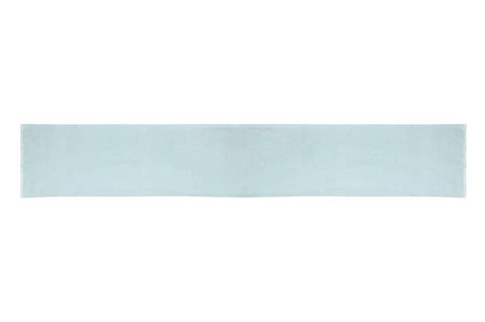 Blue Linen Table Runner